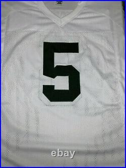 Paul Hornung Autographed Packers JERSEY FOOTBALL JSA COA Green Bay Notre Dame