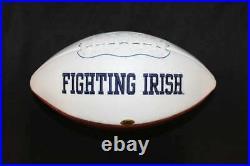 Paul Hornung Signed Notre Dame Fighting Irish Football Cas Coa Fb198