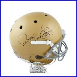 Raghib Ismail Autographed Notre Dame Full-Size Football Helmet JSA COA