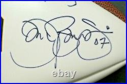 Rare Jon Bon Jovi Signed Notre Dame Football with JSA COA