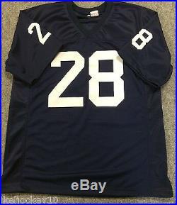 Rocky Bleier Autographed Signed Incscribed Notre Dame Jersey Jsa Coa