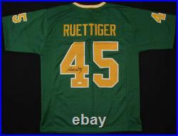 Rudy Ruettiger Autographed Custom Jersey (notre Dame) Jsa Coa