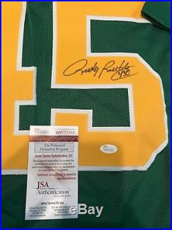 Rudy Ruettiger Autographed Signed Notre Dame Jersey Jsa Coa