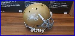 Rudy Ruettiger Signed Notre Dame Fighting Irish Full Size Replica Helmet JSA COA