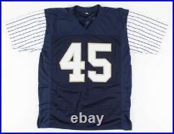 Rudy Ruettiger Signed Notre Dame Jersey Inscribed Shamrock Series (JSA COA)