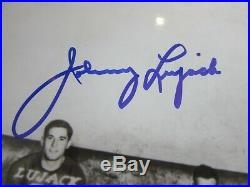 SIGNED ORIGINAL WithCOA NOTRE DAME 1947 FOOTBALL CHAMPIONS LUJACK MARTIN FISCHER