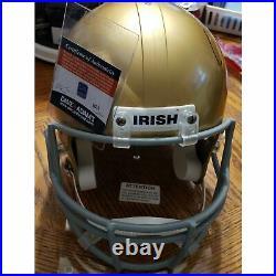 Sean Astin Rudy Movie Autographed Notre Dame Replica Helmet with COA