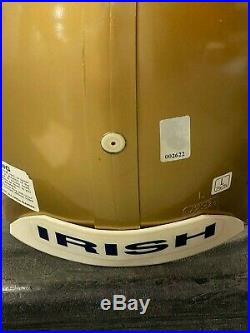 Signed Joe Montana Notre Dame Full-Size Helmet with COA & Hologram Authentication