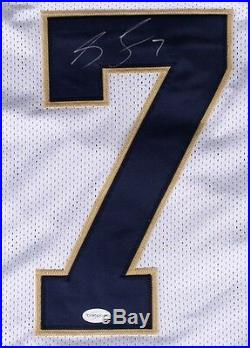 Stephon Tuitt Signed Notre Dame Fighting Irish Jersey (TSE COA) Defensive End