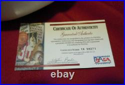 TIM BROWN Autographed Heisman Football PSA/DNA COA Signed Notre Dame Case signed