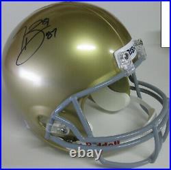 Tim Browns signed Notre Dame Fighting Irish full size helmet proof Beckett COA