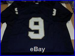 Tony Rice Notre Dame Fighting Irish 88 National Champs Jsa/coa Signed Jersey