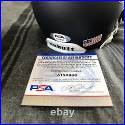 Tyler Buchner Signed Notre Dame Irish Mini Helmet Autographed Auto PSA DNA COA