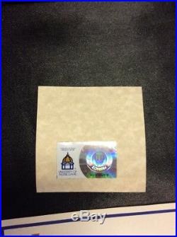 Unique 2013 Notre Dame Football Shamrock Series Commemorative Medallion Coa