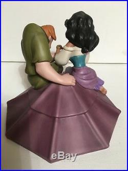 WDCC Esmeralda And Quasimodo Disney Hunchback Of Notre Dame COA