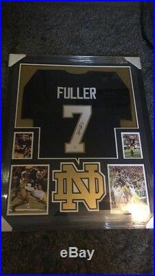 Will Fuller Signed Frames Notre Dame Fighting Irish Jersey With PSA/DNA COA